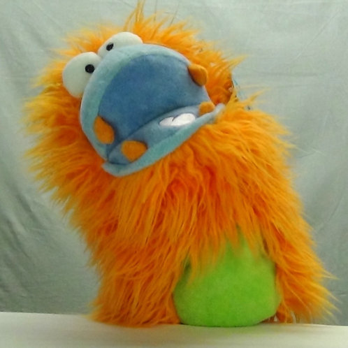 Fuzzy Wuggs - Orange - (D)