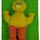 Thumbnail: Big Bird walking Finger Puppet - (D)