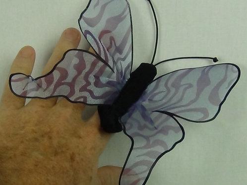 Mini Butterfly Blue Monarch- (D)