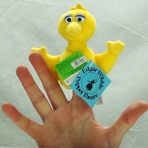 Big Bird Finger Puppet - (D)
