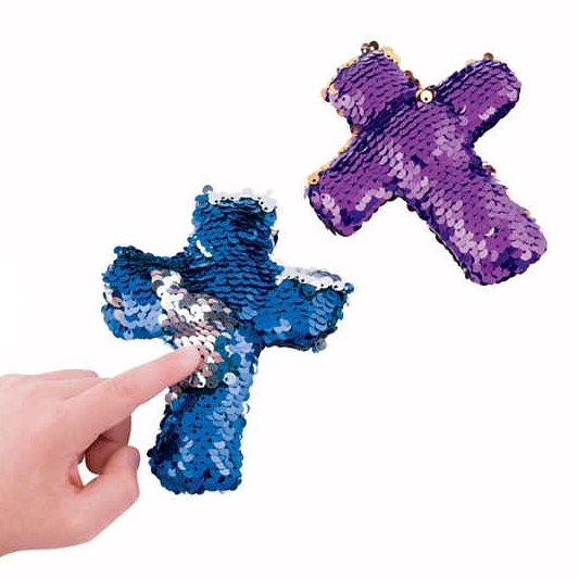 Sequin Cross