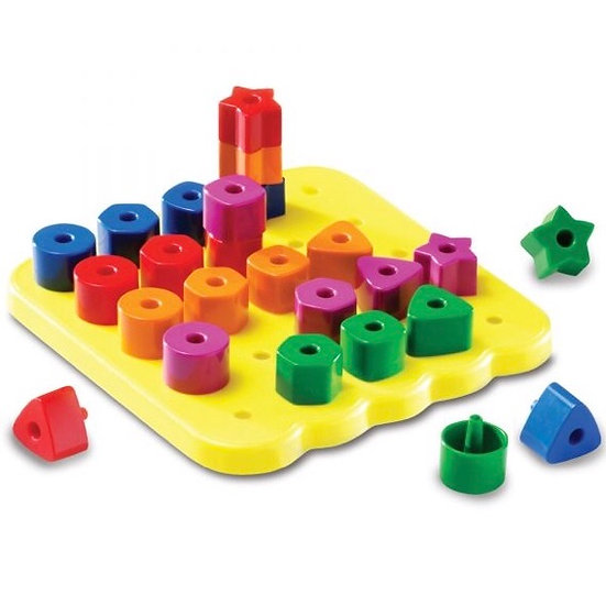 Stacking Shapes Pegboard