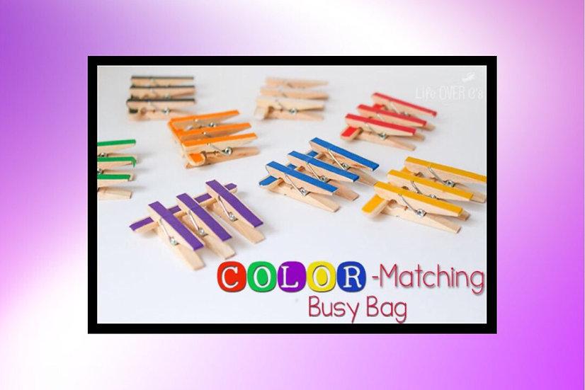 Color Matching Fine Motor Kit