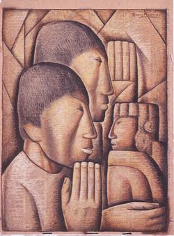 Adoraci.n de indios Indians' Worship