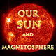 Our Sun and Magnetosphere  - Warped (license for portable planetariums)