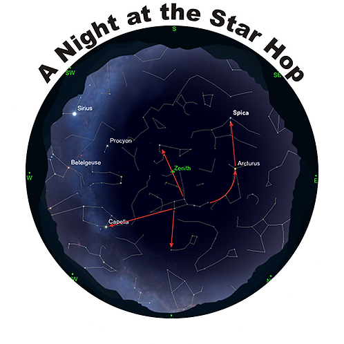 A Night at the Star Hop - (2K license for theatres less that 125)