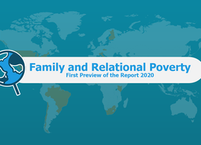 The poverty of families in the world: Preview of the Family International Monitor 2020 Report