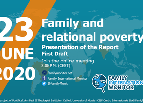 Family and relational poverty: Family International Monitor's 2020 Report - Preview