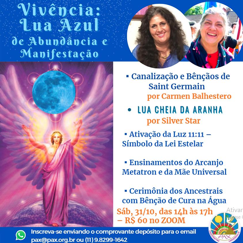 Lua Azul de Abundância com Carmen Balhestero e Silver Star
