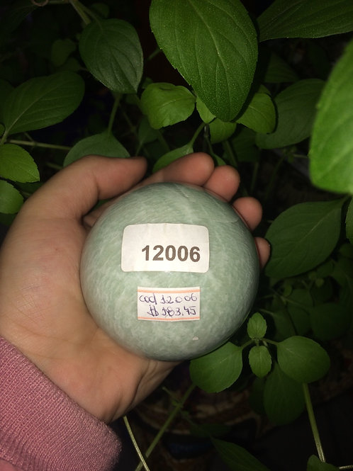 Bola de Cristal  Quartzo Verde
