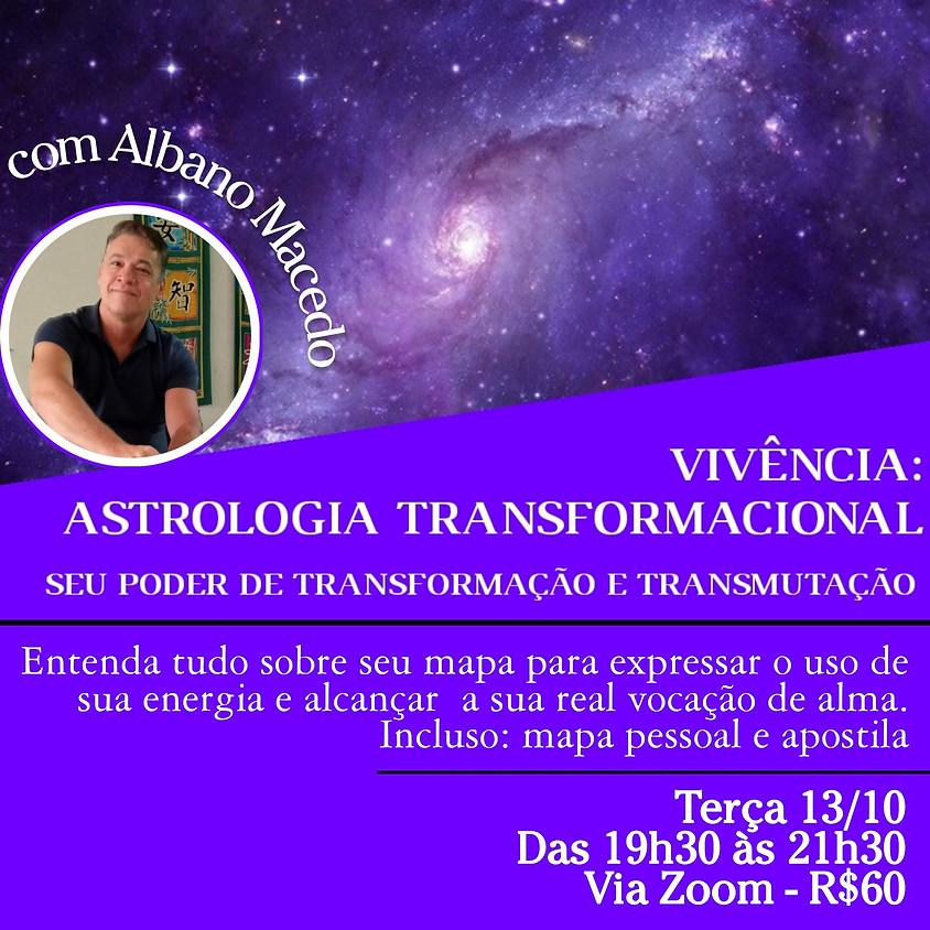 Vivência: Astrologia Transformacional - com Albano Macedo