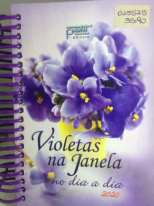 Agenda Violetas na Janela no dia a dia 2020