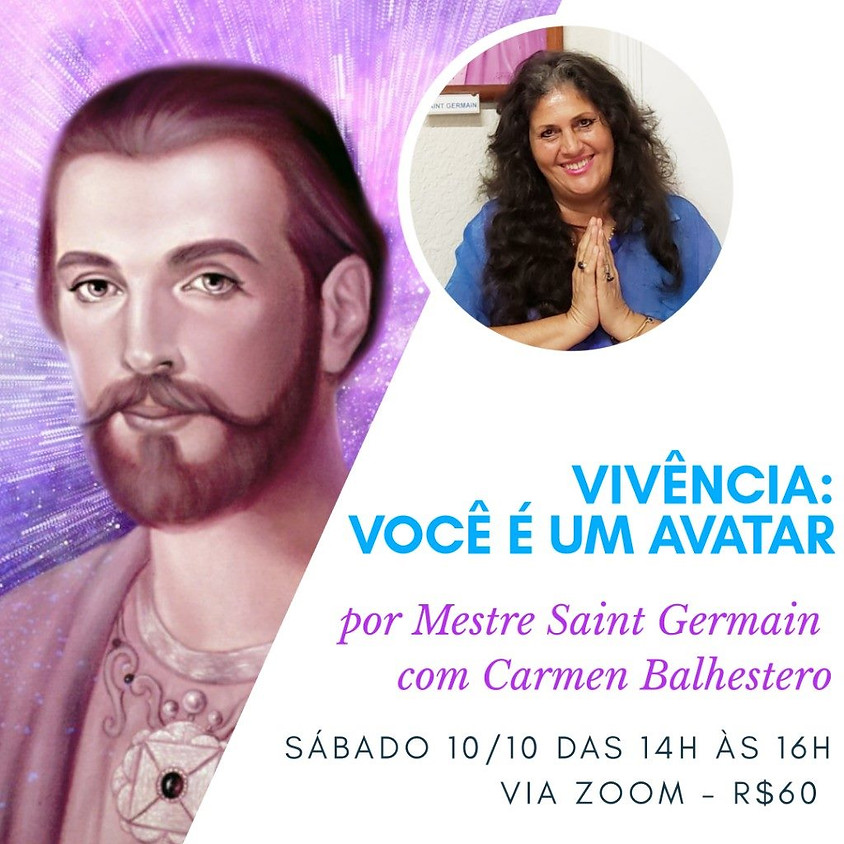 Vivência: Você é um Avatar - Carmen Balhestero