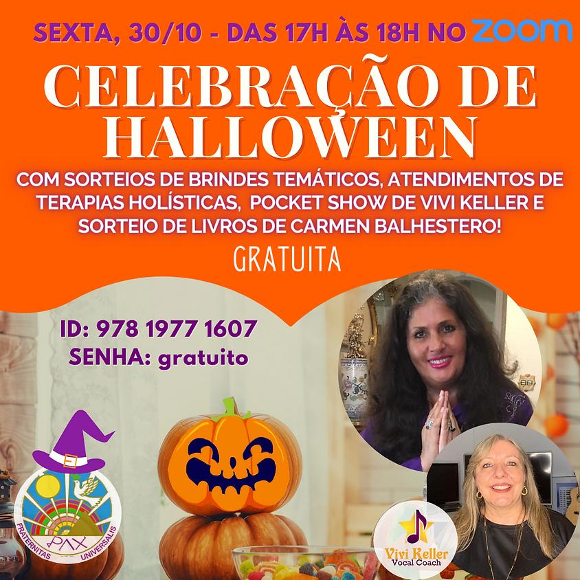 Celebração Gratuita de Halloween com Carmen Balhestero e Vivi Keller