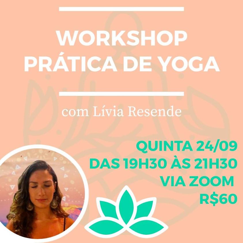 Workshop: Prática de Yoga com Lívia Resende