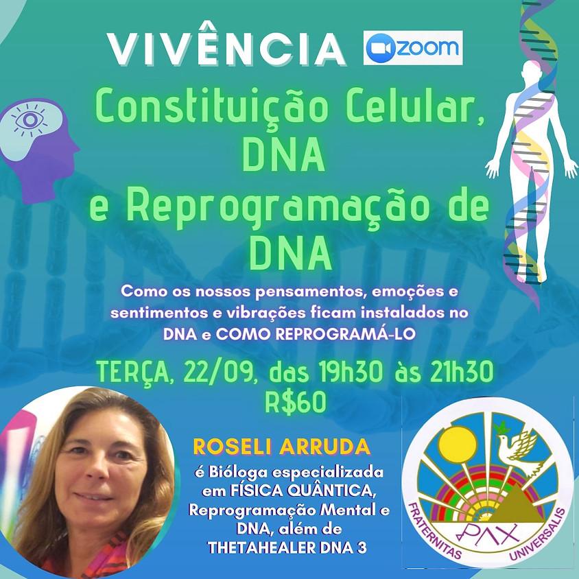 Vivência: Constituição Celular, DNA e Reprogramação de DNA