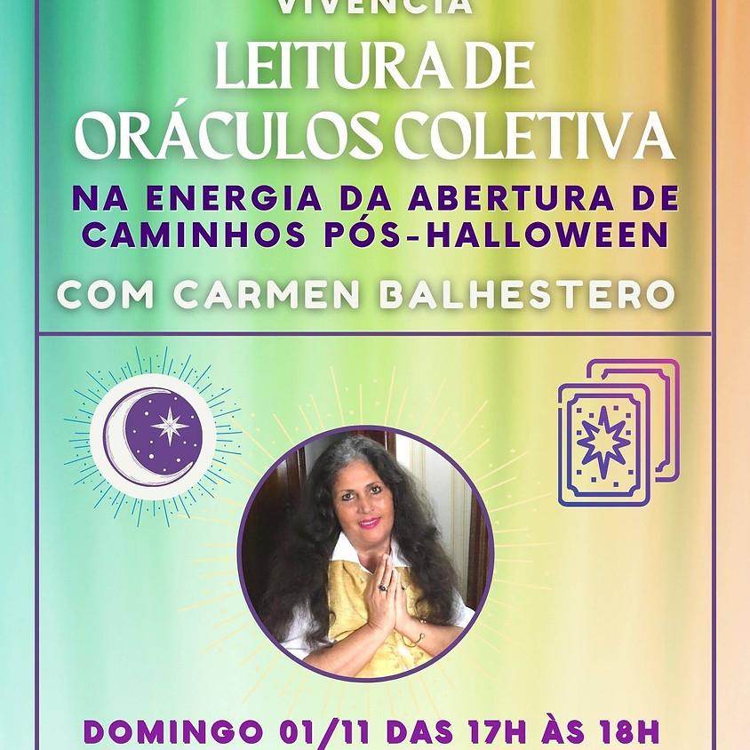 Leitura De Oráculos Coletiva - com Carmen Balhestero