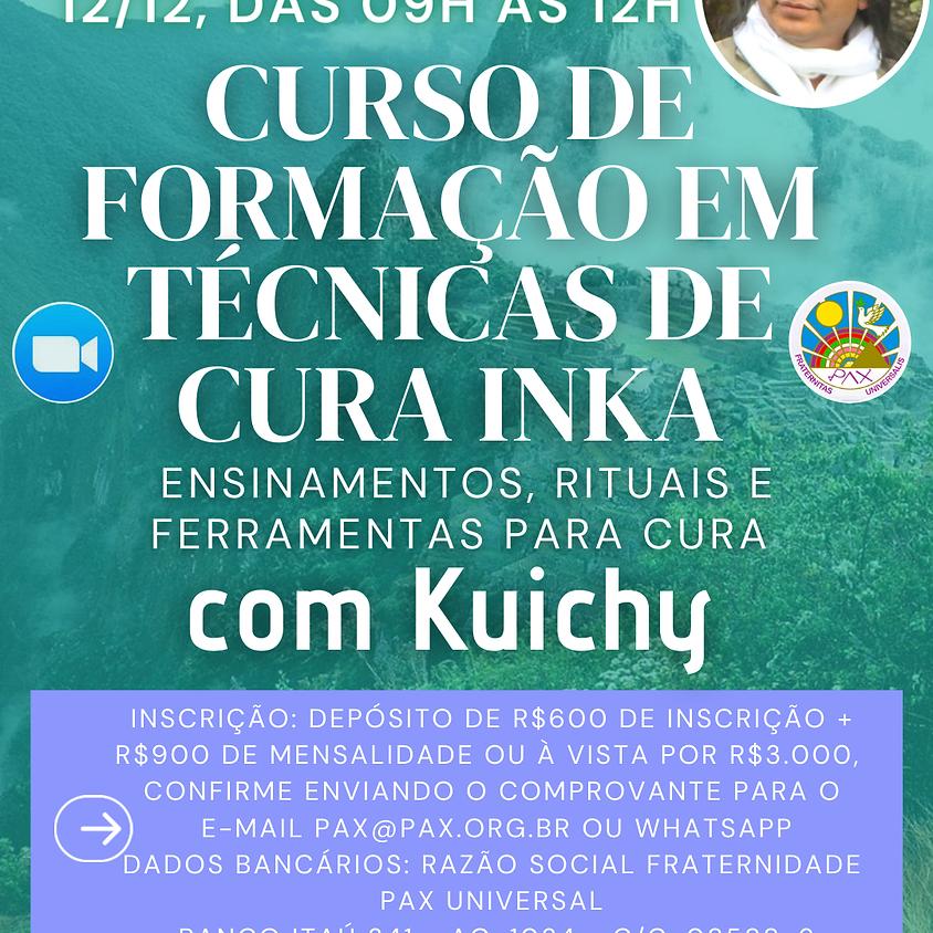 CURSO: Formação em Técnicas de Cura Inka com Kuichy