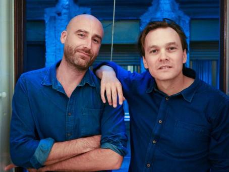 """I registi Alessio Cassiroli e Casey Kauffman da """"Butterfly"""" a """"Khadija""""."""