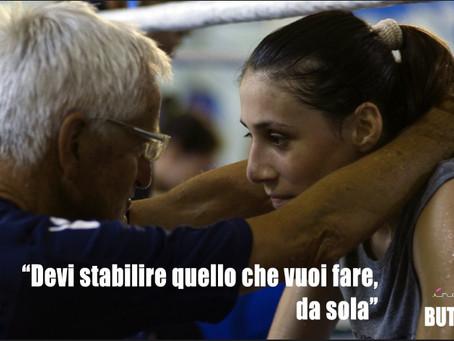"""Boxe Vesuviana, la palestra dove il Maestro Lucio Zurlo ha """"creato"""" Irma Testa."""