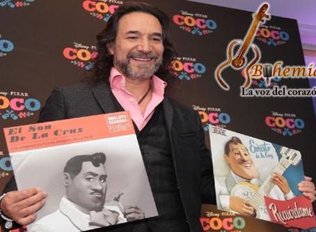 Marco Antonio Solís celebra participar en Coco