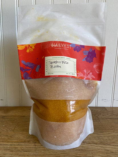 Harvest Squash Miso Broth (frozen)