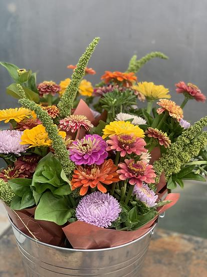 Flowers!  Zinnias & Friends