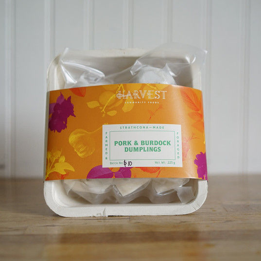 Harvest Frozen Dumplings