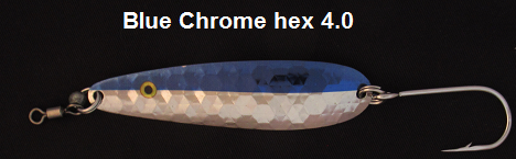 Blue/Chrome Hex 4.0