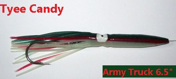 """6.5"""" Army Truck - Tyee Candy"""