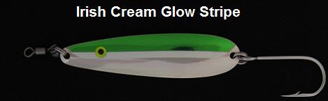 Irish Cream Glow stripe