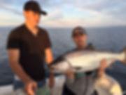 nice king salmon on Lurecharge tackle