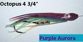 Purple Aurora 'voltage tuned' hoochie