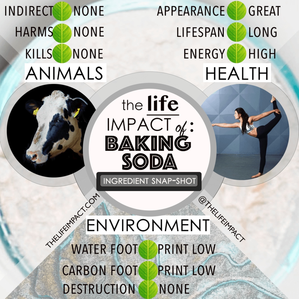environmental impacts of baking soda make a difference organics
