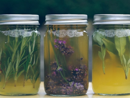 Herbs for your hair - with bonus herbal rinse recipe!