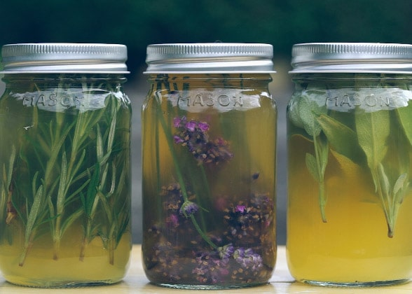 Organics herbal hair rinses | Make a difference organics