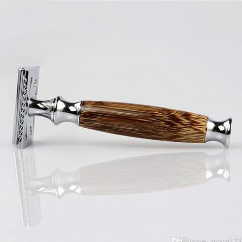 Reusable bamboo razor for shaving M.A.D Organics