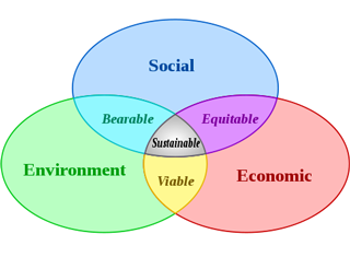 The three pillars of sustainability include social sustainability, economic sustainability, and environmental sustainability.