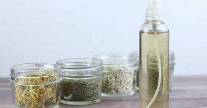 Herbal hair rinse | M.A.D Organics