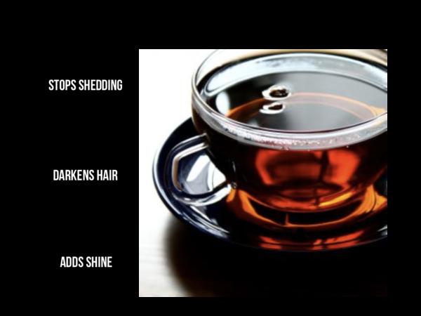 Black tea hair rinse | Make a difference organics
