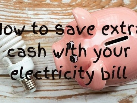 How to save some pocket money and reduce your electricity bill