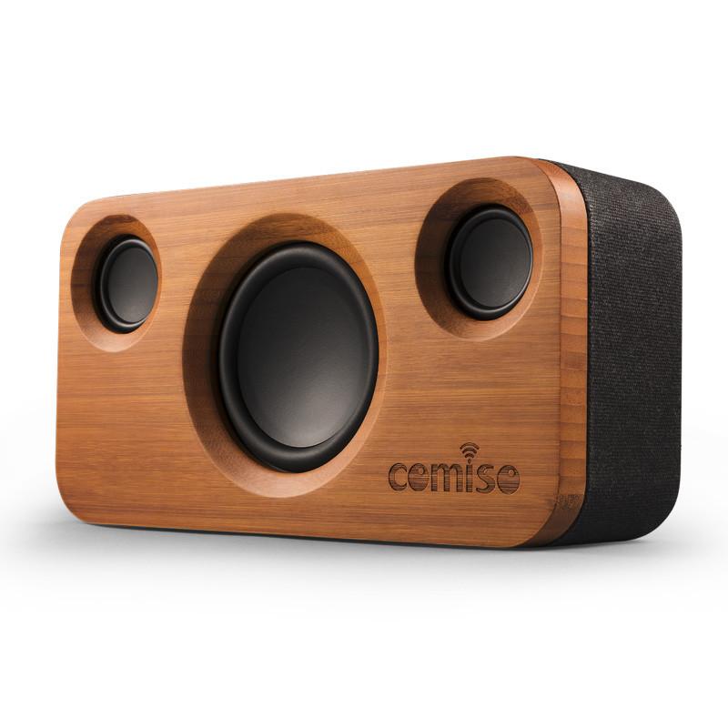 Bamboo speakers M.A.D Organics