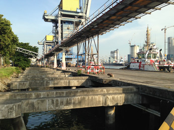 Jurong Port Expansion & Dredging Project