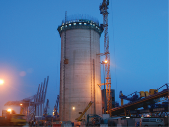 Raffles Cement T2 25-000-tonne Dual Cell Silo
