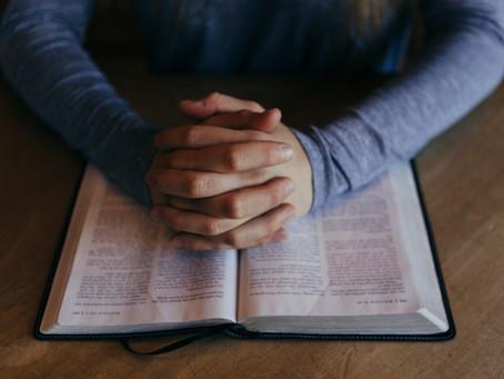 年終禱告會 Year-End Prayer Meeting 12/31 @ 7:30pm