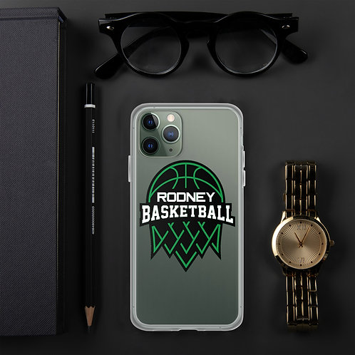iPhone Case Featuring Rodney Basketball Logo