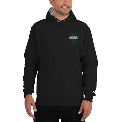 Champion Hoodie Featuring Rodney Basketball Club Embroidered Logo