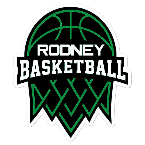 Rodney Basketball Sticker
