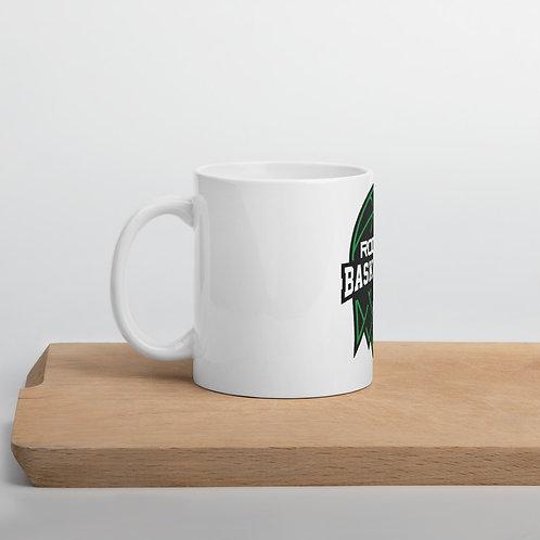 Mug Featuring Rodney Basketball Club Logo