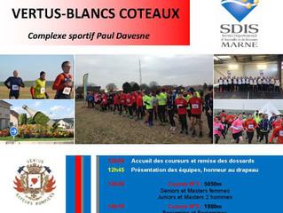 Cross départemental des Sapeurs-Pompiers de la Marne - 19 janvier 2019 Blancs Coteaux Vertus